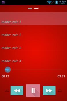 listen music maher Zain poster