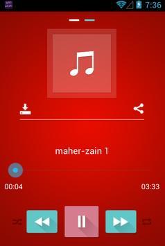listen music maher Zain screenshot 4