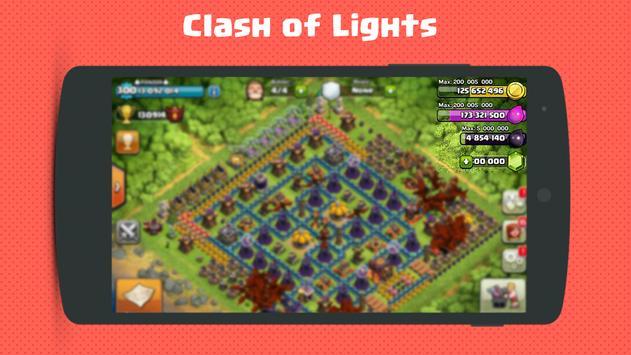 FHX Clash of Lights COC Server screenshot 1