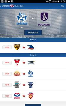 Watch AFL Global Pass screenshot 1