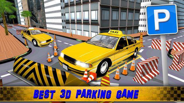 Zoro Taxi Driver Parking 3D poster