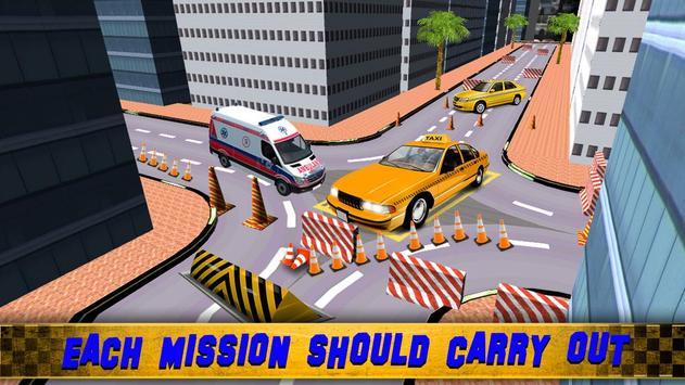Zoro Taxi Driver Parking 3D screenshot 1