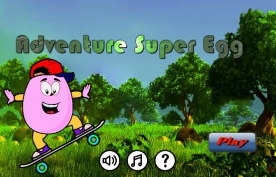 Adventure Super Egg poster