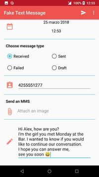fake text message for android apk download