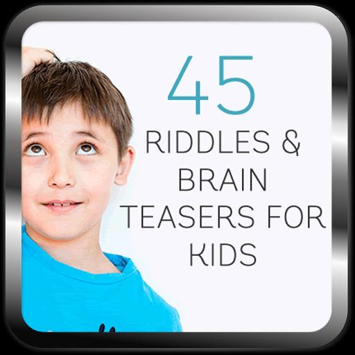 45 riddles and Brain Teasers poster