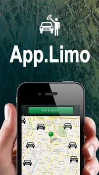 App Limo Houston poster
