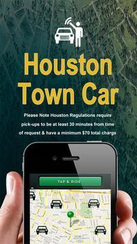 Houston Town Car Service poster
