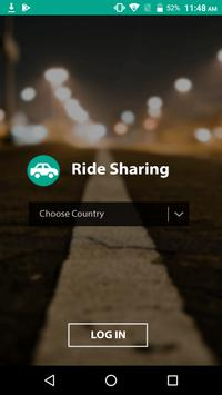 Pool - Ride Sharing Mobile Application poster