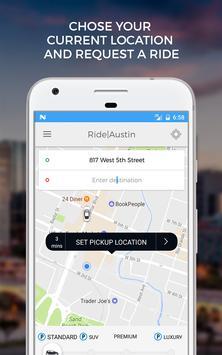 Ride Austin Non-Profit TNC screenshot 1