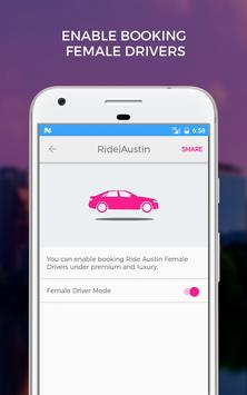 Ride Austin Non-Profit TNC screenshot 4
