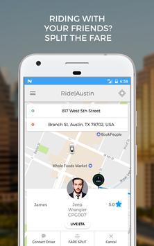 Ride Austin Non-Profit TNC apk screenshot