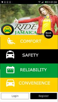 Ride Jamaica Taxi App- Jamaica Tourist Board Taxis poster
