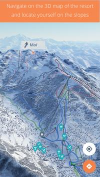 4riders Ski - 3D Social Maps and GPS Tracking poster