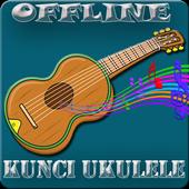 Kunci Ukulele dan Lirik Offline icon