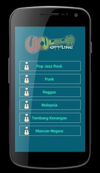 Kunci Ukulele dan Lirik Offline poster