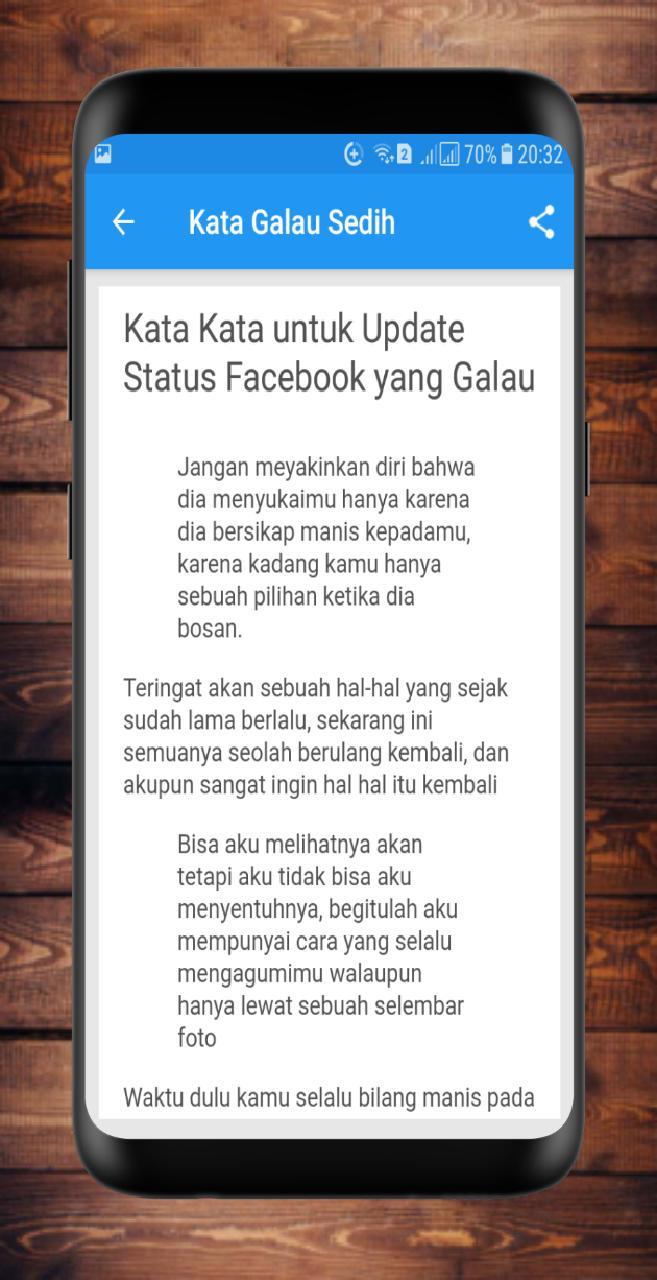 Kata Galau Sedih Menyentuh For Android APK Download
