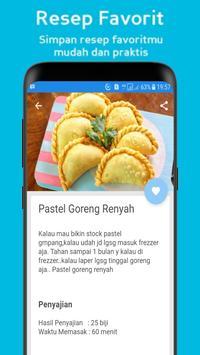"""Resep Pastel """"Basah, Kering & Renyah"""" poster"""