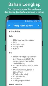 """Resep Pastel """"Basah, Kering & Renyah"""" screenshot 2"""