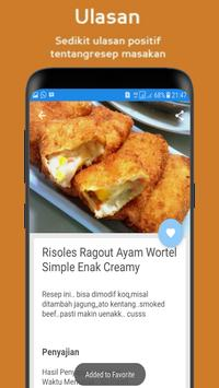 Resep Risoles Enak screenshot 1