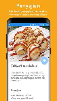 Resep Membuat Takoyaki screenshot 1