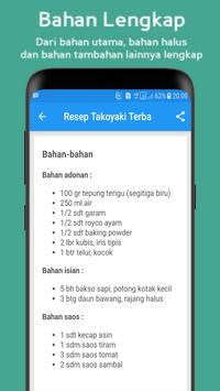 Resep Membuat Takoyaki screenshot 2