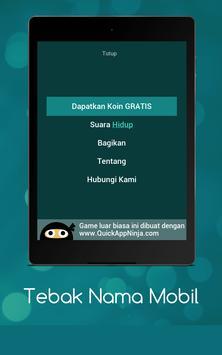 Tebak Nama Mobil screenshot 15