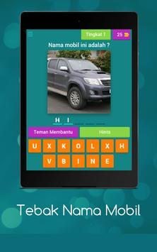 Tebak Nama Mobil screenshot 10