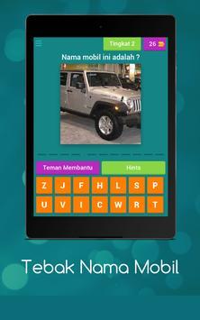 Tebak Nama Mobil screenshot 12