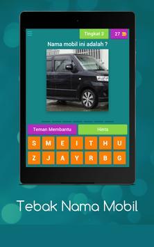 Tebak Nama Mobil screenshot 13