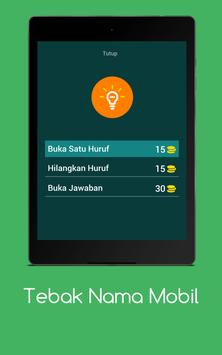 Tebak Nama Mobil apk screenshot