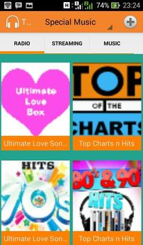 Ultimate Top Love Songs Radio poster
