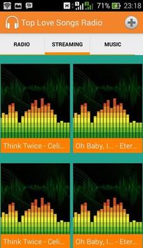 Ultimate Top Love Songs Radio apk screenshot