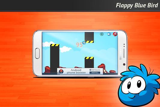 Flappy Blue Bird apk screenshot