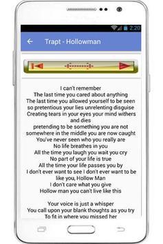 Trapt Hits And Lyrics apk screenshot
