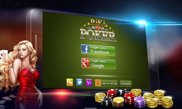 Riki Texas Holdem Poker FR poster