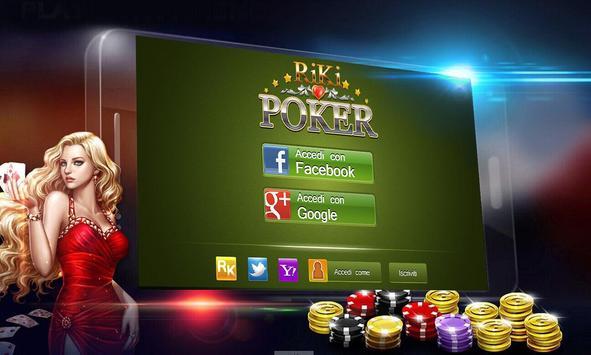 Riki Texas Holdem Poker IT poster