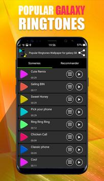 Popular Ringtones For Galaxy S8 & S7 apk screenshot