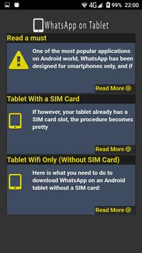 download whatsapp for android tablet without sim