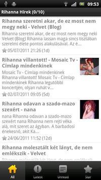 Rihanna Magyar Hírek poster