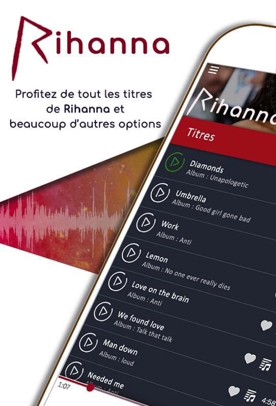 application pour ecouter musique sans internet android