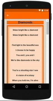 Rihanna Complete Lyrics screenshot 3