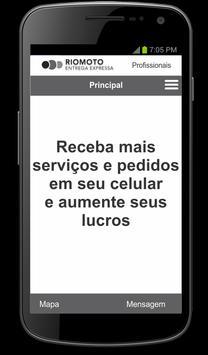 RIOMOTO - Profissional screenshot 1