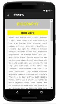 Rico Love -  Music And Lyrics screenshot 2