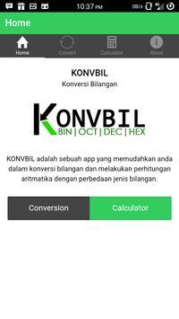 Konversi Bilangan - KonvBil poster