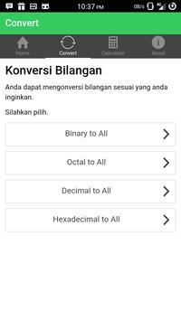 Konversi Bilangan - KonvBil screenshot 1