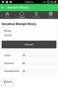 Konversi Bilangan - KonvBil screenshot 2