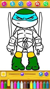 Descarga Libro De Colorear Para Tortugas Ninja Apk Para Android