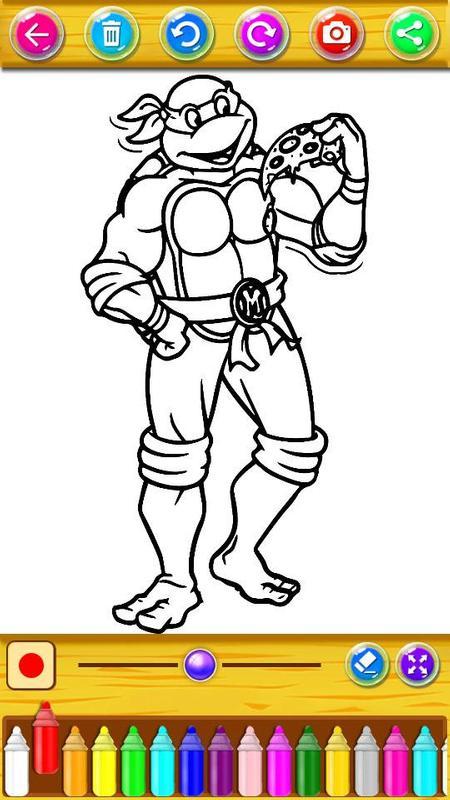 Libro de colorear para tortugas ninja for Android - APK Download