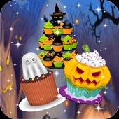 Halloween Cupcakes Crumble 3 icon