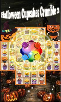 Halloween Cupcakes Crumble 3 apk screenshot